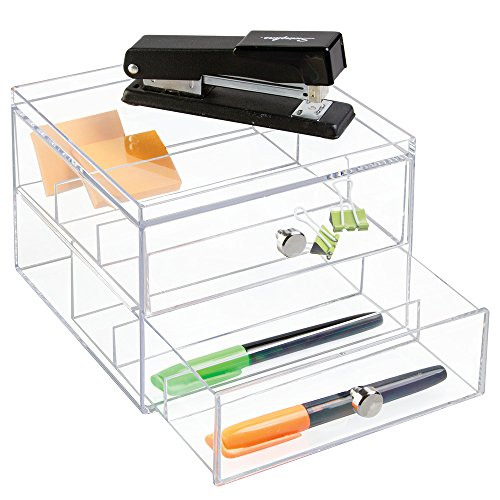 iDesign Vanity/Cosmetic Organizer, Set of 1, Clear