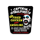Captain Spaulding's Fried Chicken and Gasoline House of 1,000 Corpses Devil's Reject Vinyl Decal by NEO Tactical Gear - Made in The USA (1)