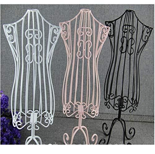 1 stks Willekeurige Kleur Huisdier Kleding hanger Display Houder Torsos Pop Jurk Formulieren Mannequin standaard Basis Metaal Vintage kat