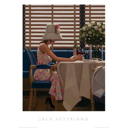 JACK VETTRIANO 'Días de Vino y Rosas Impresión tamaño 50cm x 70cm