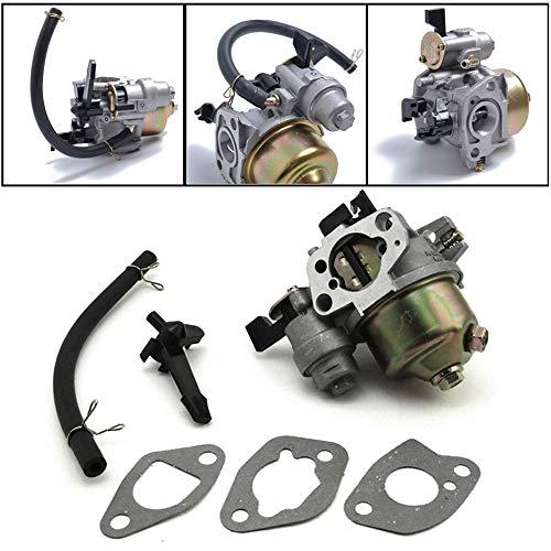 QIUXIANG Carburador Fit for Honda GX160 GX200 5.5/6.5HP y ampChoke Palanca Juntas de Carb