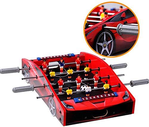 YUHT Tischfußball,Kickertisch Car Modeling Design Tischkicker, tragbares Mini-Tabletop-Billard-Spielzubehör, Fußball-Tabletops-Wettbewerbsspiele, Sportspiele