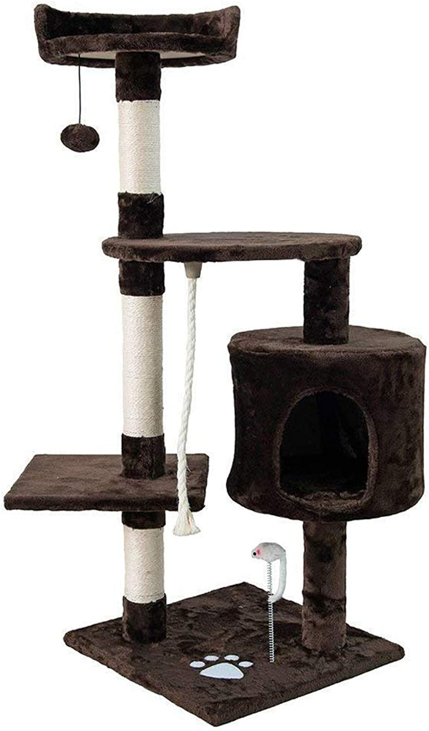 Dipet Cat Tree Furniture,Cat House, Kittens Climbing Tower Size 45 (H)