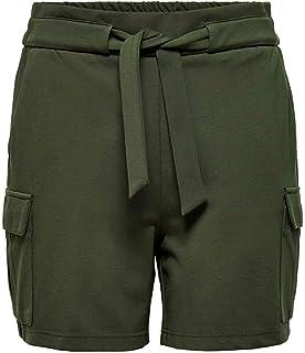 Only Onlpoptrash Cargo Belt Shorts Pnt Pantalones Cortos para Mujer