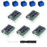 BZ 3D TMC2209 V2.0 Stepper Motor Driver 2.5A UART Ultra Silent for MKS SGen L V1.0/Gen L V2.0 /Robin E3D/SKR 1.3/1.4 Support Sensorless-Homing Function (5 PCS)