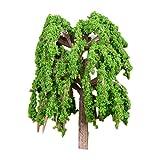 VOSAREA Miniatur Bäume Puppenhaus Landschaft Künstliche für Gartendeko DIY Fee Garten