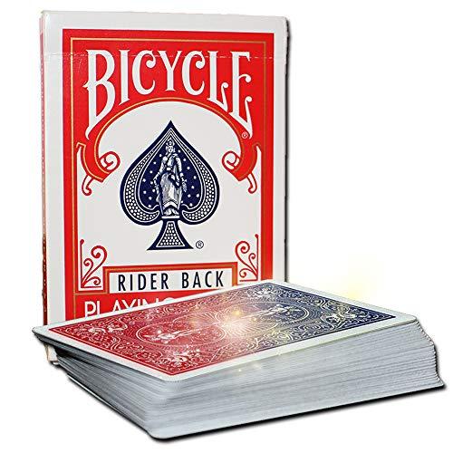 The Color Changing Deck + deutschspr. Video-Instruktionen, 52 Bicycle Karten ändern die Rückseiten-Farbe, Karten für Kartentricks, Magisches Färbe-Kartenspiel, Zauber-Karten Kartendeck Zaubertricks