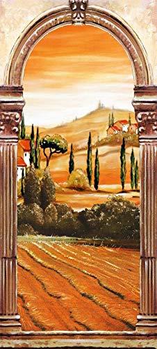 Papermoon Toscaanse Boog Vlies Fotobehang 90x200cm