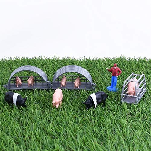 NewRay - 0432025 - Figurine Animal - Set Country Life - Coloris Aléatoire
