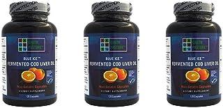 Best Blue Ice Fermented Cod Liver Oil Orange Flavor - 120 Caps (3 Pack) Review