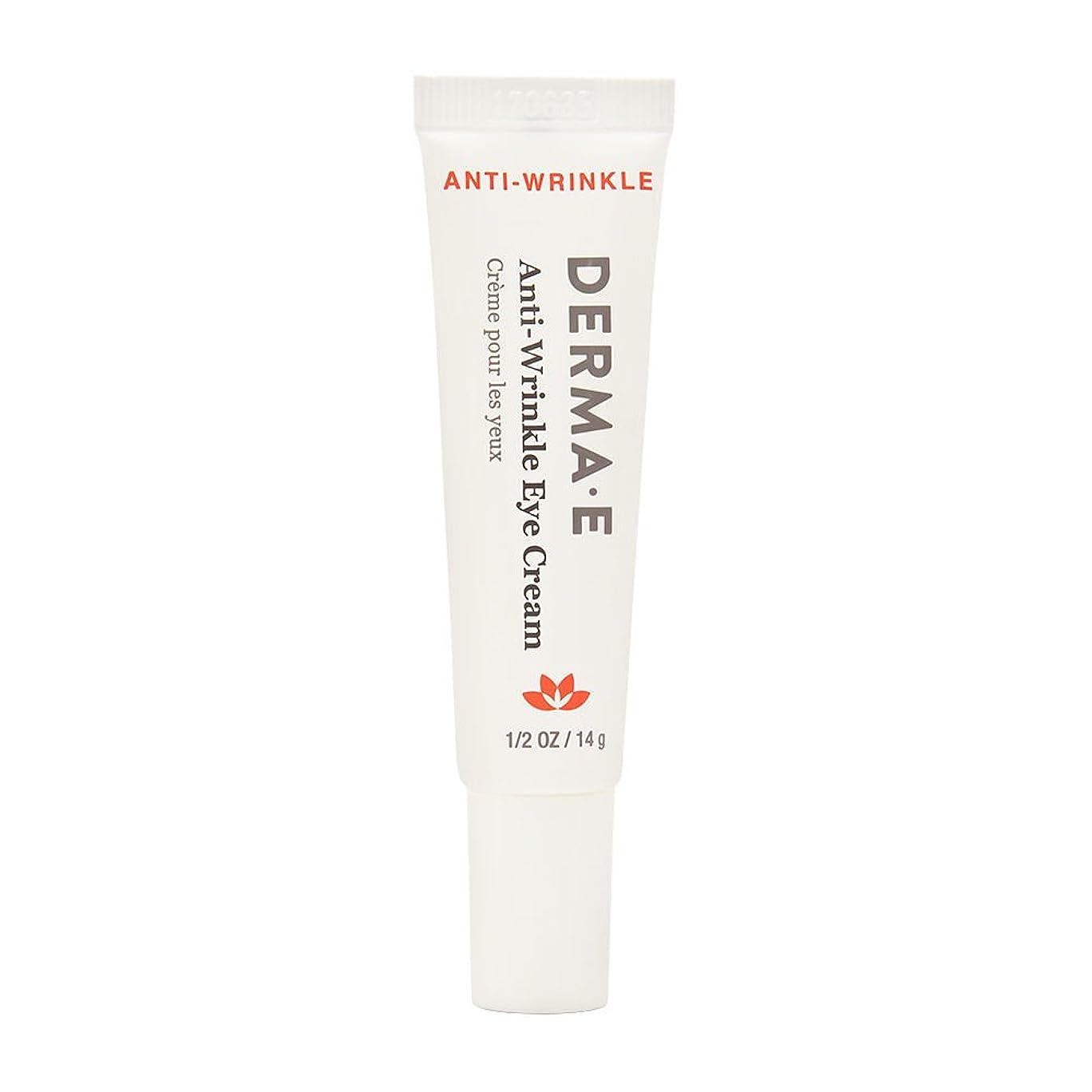 休暇モットー早熟Derma E Beauty - Anti-Wrinkle Eye Cream - 0.5oz / 14g