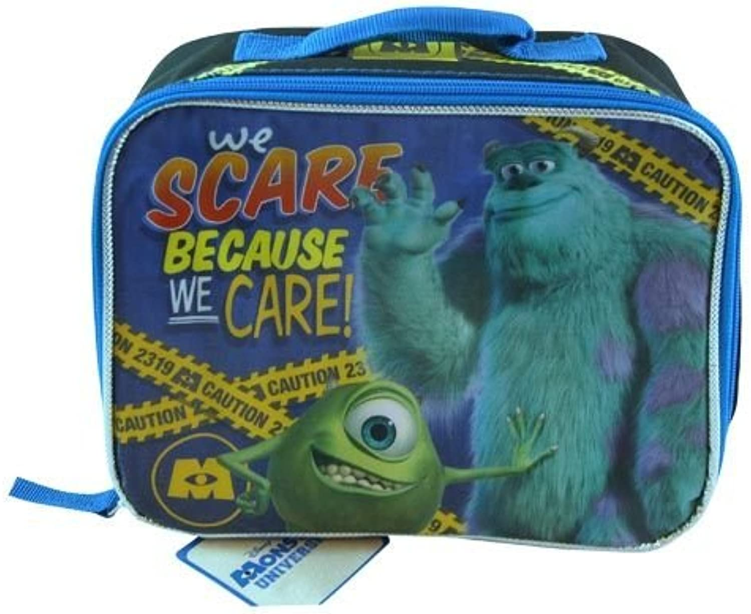 Monsters University We Scare Because We Care Insulated Lunchbox