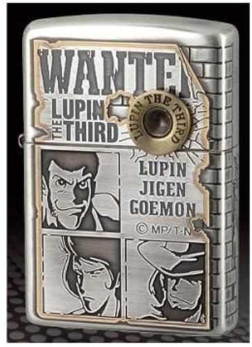 Seleccione de las marcas más nuevas como Zippo Lupine Lupine Lupine III WANTED No.4 Bounties  de moda