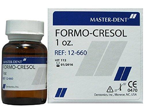 Dental Master-dent Formocresol or Formo Cresol 30ml (1oz.) 12-660 - Dentonics