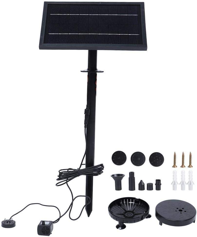 9V 8W Solar Fountain Over item handling Garden Floating Pump 5 ☆ very popular