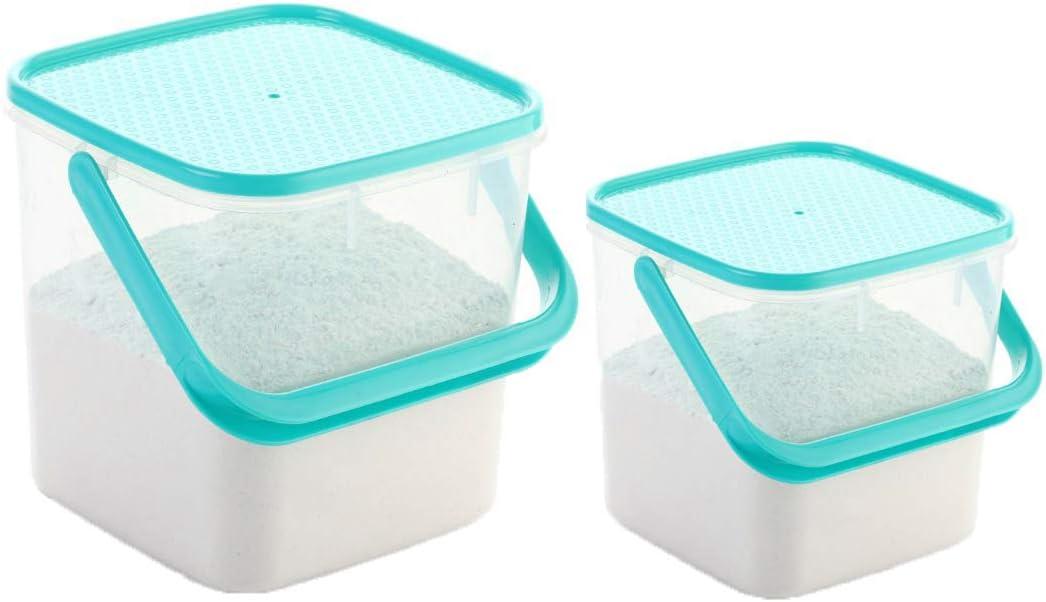 Long Beach Mall Machak Handhold Multi Purpose Max 74% OFF Plastic Container Set L 5 3 Box