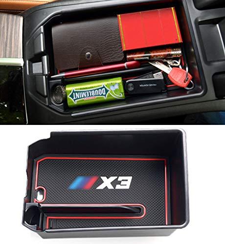 Jaronx Armrest Secondary Storage Box Compatible with BMW X3 2021 2020 2019 2018 G01,BMW X4 2019 G02, Center Console Insert Organizer Tray