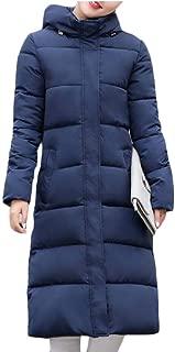 Women Maxi Down Jackets Hooded Long Down Jacket Winter Parka Puffer Jacket