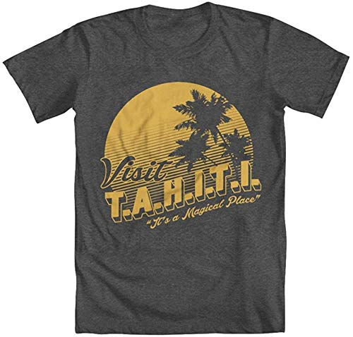 AiChao Visit Tahiti Men's T-Shirt