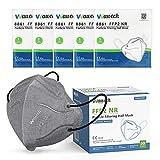 Wawech mascarillas ffp2 desechables 50 pcs adultos respirador antipolvo 5 capas de homologadas CE y EN149:2001+A1:2009