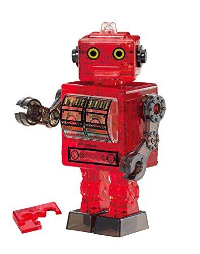 39ピース クリスタルパズル ブリキ ロボット・レッド