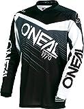 Oneal Element 2018 Racewear Jugend Motocross Jersey S schwarz grau 0006-102