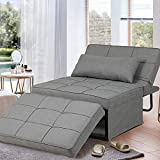 GOOGIC Sofa Bed, Convertible Chair 4 in 1 Multi-Function Folding Ottoman Modern...