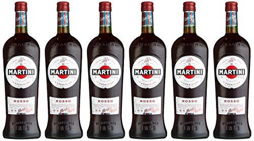Martini Rosso Wermut (6 x 1 l)