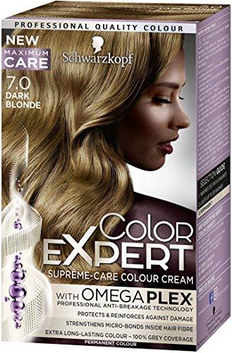 Schwarzkopf Color Expert permanente Farbcreme für Haare 7.0 Dunkelblond, 150 g