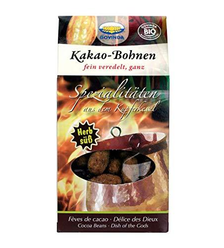 Govinda Kakao-Bohnen karamelisiert, 2er Pack (2 x 100 g Karton) - Bio
