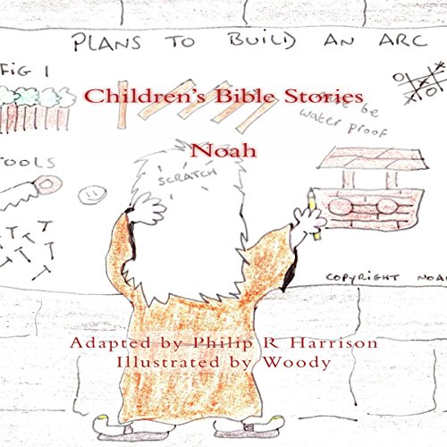 Children's Bible Stories: Noah audiobook cover art