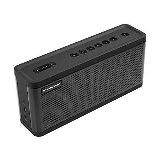 25W Bluetooth Lautsprecher mit BasssKontrolle,15W Subwoofer,Dual 10W Drive drahtloser Außenlautsprecher,Super Klang&Bass,AUX-Eingang,NFC für Smartphone,Tablet,TV,ipad