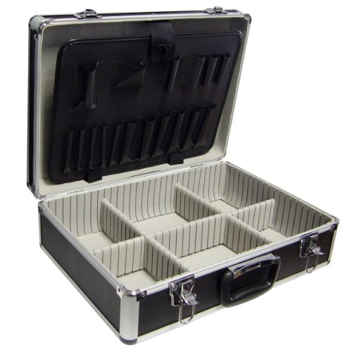 Labor 542619 Valigetta Porta Utensili in Alluminio, 460 x 330 x 150 mm
