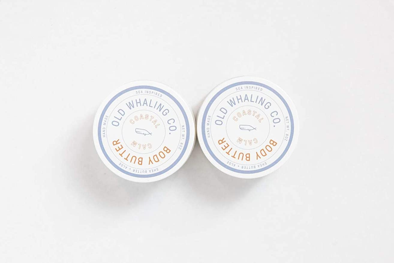 Two 8oz Coastal Calm Body Butter