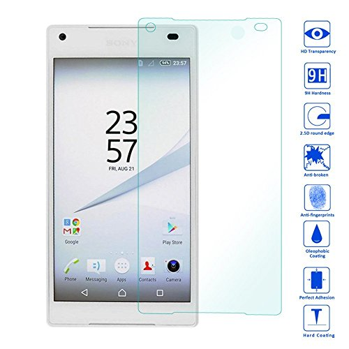 Wunderglass - Sony Xperia Z3 Tablet Compact Screen Protector 9H Tempered Glass Protector Screen Protector from toughened Glass foil Film - by OKCS