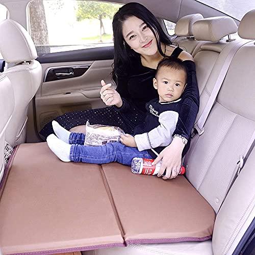 HyiFMY Asientos para Mascotas, Cama de colchón de Aire Inflable de automóviles para el Asiento Trasero de los Autos Suv's y Camiones Mediados de los Camiones al Aire Libre Camping Universal