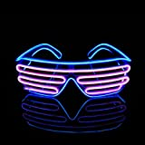 PINFOX Light Up Flashing Shutter Neon Rave...