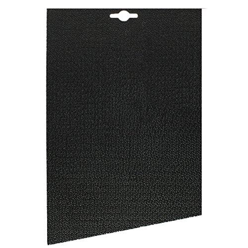 Langlauf Schuhbedarf Sohlengummi Sport ca. 4 mm für ein Paar Halbsohlen, schwarz