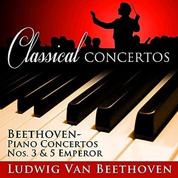 Piano Concertos, No. 3 & 5 - Emperor