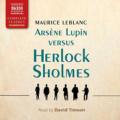 Arsène Lupin versus Herlock Sholmes cover art