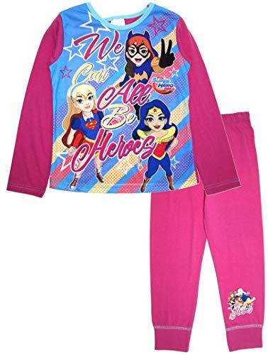 DC Super Hero - Pijama largo para niñas