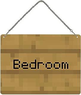 Grindstore Bedroom Note Pixel Mini Tin Sign