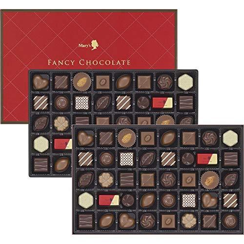 メリーチョコレート ファンシーチョコレート 【80粒 チョコレート ナッツ ボンボンショコラ スイーツ かわいい デザート】