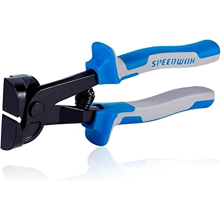 SPEEDWOX Glass Tile Nipper 8 Inch Glass Cutters for Quickly Cutting Porcelain Mosaic Ceramic Mirror Professional Hand Tile Snipper Score Tile Working Tool Heavy Duty Pliers Tool