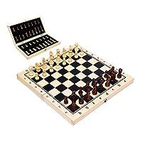 旅行携帯用折りたたみチェスボードゲームセット - ポータブル、そして教育委員会ゲーム - キッズギフト,34cm*34cm