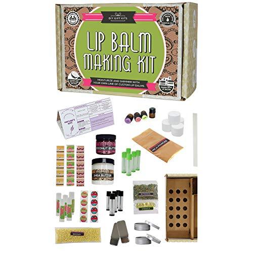 DIY Lip Balm Kit, Filling Tray Included!...