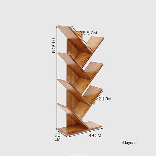 precios bajos todos los dias Decoración de parojo ZHANGRONG- 2 3 4 5 6-tier 6-tier 6-tier Natural Simple Bamboo Bookcase Study Office Escritorio de Estudiantes Pequeña Librería Landing Tree Creativity Bookshelf marrón (Tamaño   106cm)  venta de ofertas