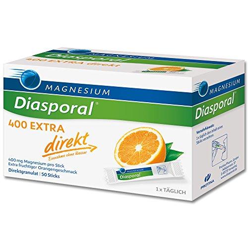 MAGNESIUM MAGNESIUM DIASPORAL 400 Extra direkt Granulat - 50 St Granulat 0840243