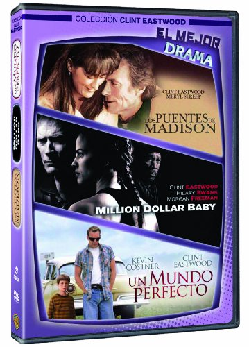 Los puentes de Madison + Million dollar baby + Un mundo perfecto [DVD]