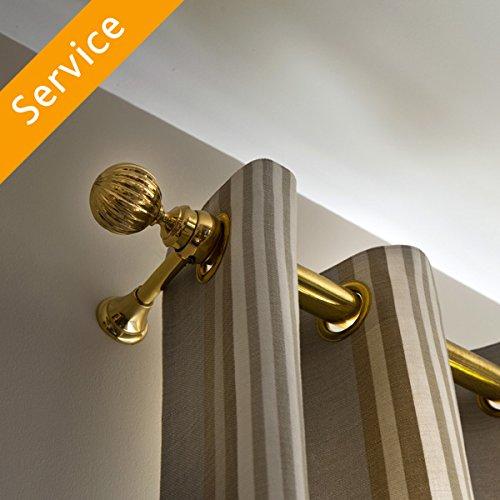 Curtain Rod Installation - Drywall - 3 Curtain Rods